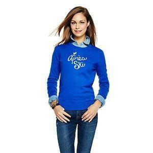 C. Wonder - Blue Après Ski Sweater - XL